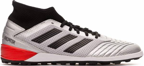 Adidas Predator 19.3 Turf - Silver Metallic/Black/Hi-res Red