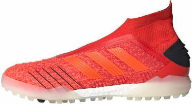 Adidas Predator Tango 19+ Turf - Action Red-Solar Red-Black (F35800)