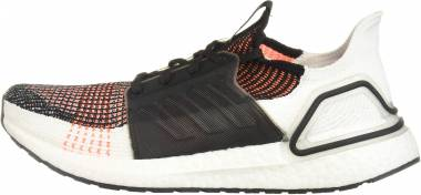 Adidas Ultraboost 19 - Black White Solar Orange (G27519)