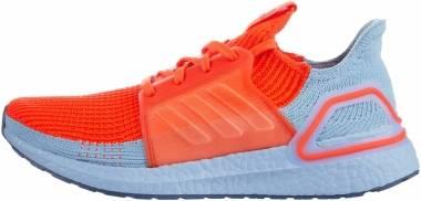 Adidas Ultraboost 19 - Solar Red / Solar Red / Glow Blue (G27505)