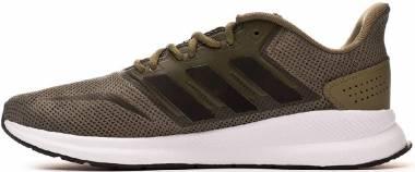 Adidas Runfalcon - Green Raw Khaki Core Black Footwear White 0 (G28729)