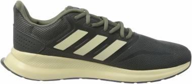 Adidas Runfalcon - Grey Six Sand Legacy Green (EG8617)