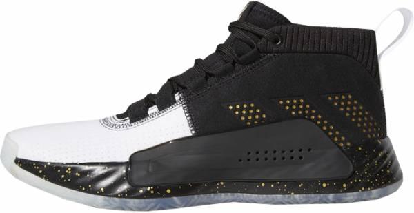 Adidas Dame 5 - Black/Gold Metallic/White