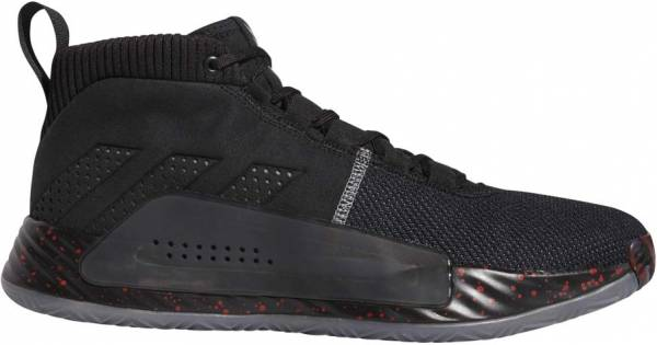 super popular 1c999 82931 Adidas Dame 5 Black Grey Night Metallic