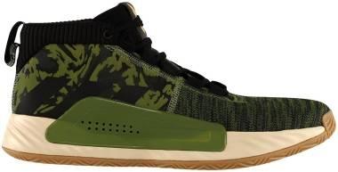 Adidas Dame 5 - Black,green (FV7141)