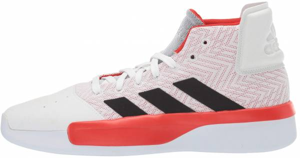 Adidas Pro Adversary  White/Active Red/Black