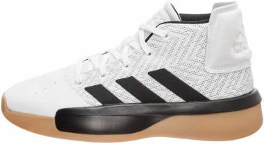 Adidas Pro Adversary  - Blanco Negro Gris