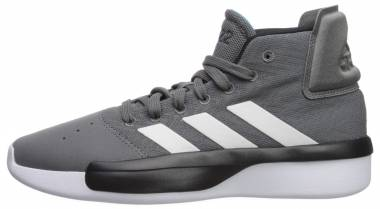 Adidas Pro Adversary  - Grey/White/Shock Cyan (BB9190)