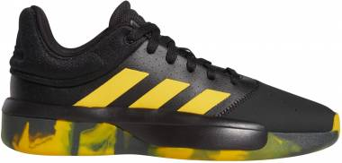 Adidas Pro Adversary Low - noir/jaune or/noir