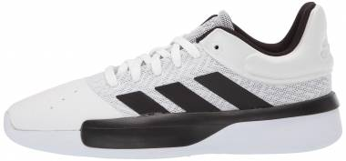Adidas Pro Adversary Low - White Black Grey