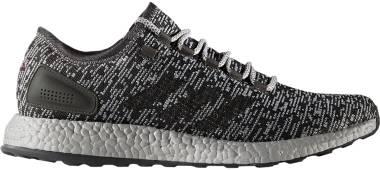 Adidas Pureboost LTD - Dark Grey Heather/Dark Grey Heather/Medium Grey Heather (S80701)