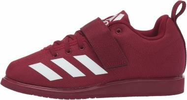 Adidas Powerlift 4 - Collegiate Burgundy/White/Collegiate Burgundy