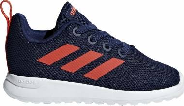 Adidas Lite Racer CLN - Dark Blue / Active Orange / Cloud White (F36460)