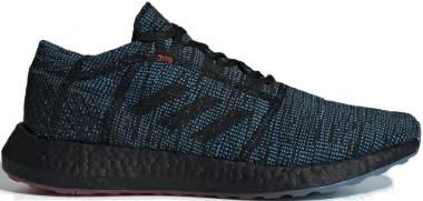 Adidas Pure Boost Go LTD - BLACK- SHOCK CYAN