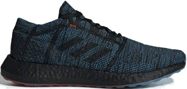 Adidas Pure Boost Go LTD - Core Black Core Black Shock Cyan