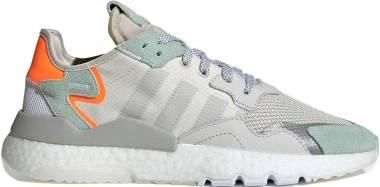 Adidas Nite Jogger - Raw White / Grey One-vapour Green (BD7956)