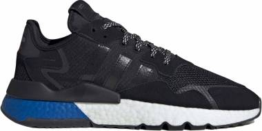 Adidas Nite Jogger - Black/Black/Lush Blue (FW5331)