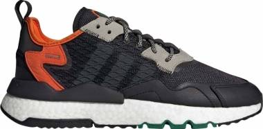 Adidas Nite Jogger - Core Black Grey Six Orange