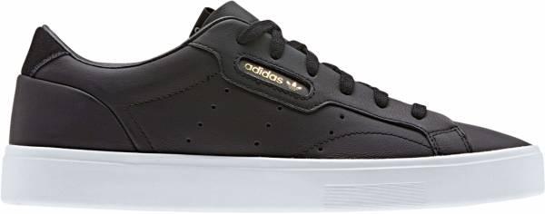 Adidas Sleek - Core Black / Core Black / Crystal White (CG6193)