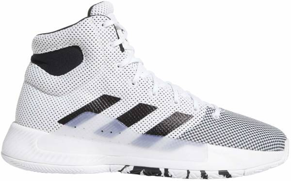 Adidas Pro Bounce Madness 2019 - White/Black/Solar Red (BB9235)