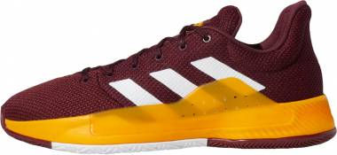 Adidas Pro Bounce Madness Low 2019 Maroon/White/Collegiate Burgundy Men