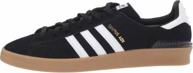 Adidas Campus ADV - Core Black/Footwear White/Gum 4