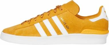 Adidas Campus ADV - Tactile Yellow F17/Footwear White/Gold Metallic (EF8474)