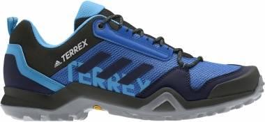 Adidas Terrex AX3 - Glory Blue Legend Ink Shock Cyan (EG6176)