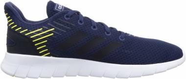 Adidas Asweerun - Bleu Indigo Bleu Marine Jaune Flash (EG3173)