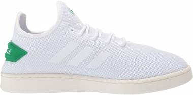 Adidas Court Adapt - White/White/Green (F36417)