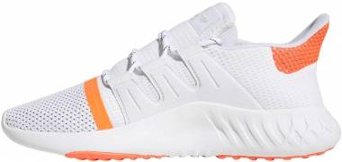 Adidas Tubular Dusk - White Ftwr White Solar Red Core Black (B37751)
