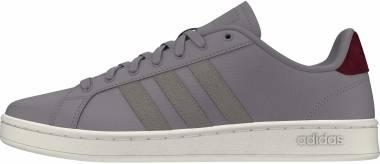 Adidas Grand Court - Dove Grey Dove Grey Collegiate Burgundy (EG7891)