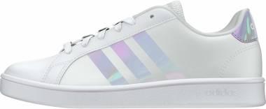 Adidas Grand Court - Ftwr Blanc Ftwr Blanc Gris Dash