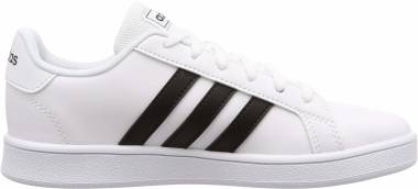 Adidas Grand Court - 1 - Negro/Blanco (EF0103)