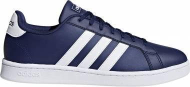 Adidas Grand Court - Azul Azuosc Ftwbla Ftwbla 000 (F36404)