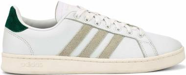 Adidas Grand Court - Footwear White / Orbit Grey / Core Green (EG7890)