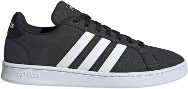 Adidas Grand Court - Black/Core White/Core White (FV8112)