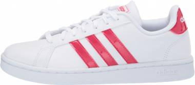 Adidas Grand Court - White/Active Pink/White (EE9688)