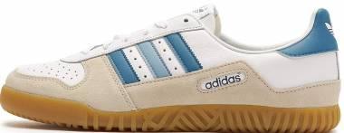 Adidas Indoor Comp SPZL Bianco (Ftwwht/Supcol/Cbrown Ftwwht/Supcol/Cbrown) Men