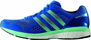 Adidas Adizero Tempo 8 - Bleu Blue Night Navy Easy Green (BB4357)