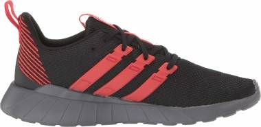 Adidas Questar Flow - Black Active Red Grey