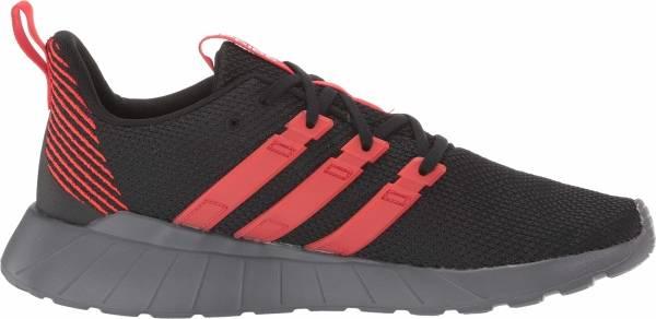 Adidas Questar Flow - Black/Active Red/Grey