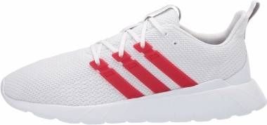 Adidas Questar Flow - Ftwr White/Scarlet/Grey (FV9067)