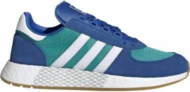 Adidas Marathon Tech - Vert Turquoise Blanc Bleu (EE4918)