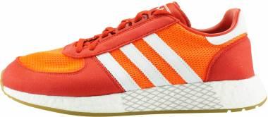 Adidas Marathon Tech - Rouge Solaire Blanc Rouge Foncã