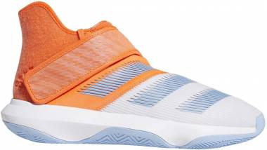 Adidas Harden B/E 3 - White Hi Res Coral Glow Blue (F97189)