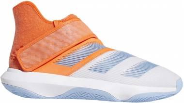 Adidas Harden B/E 3 - White Hi Res Coral Glow Blue