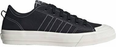 Adidas Nizza RF - Noir Blanc Blanc