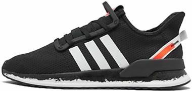 Adidas U_Path Run - Black/White/Signal Coral (FW7566)