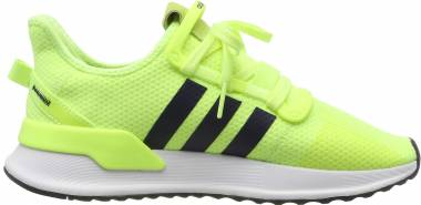 Adidas U_Path Run - Gelb Hi Res Yellow Collegiate Navy Footwear White 0